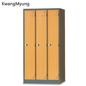 km steel locker(Beech Combi)-3인용