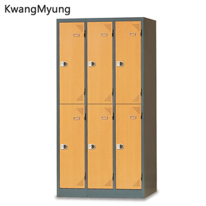 km steel locker(Beech Combi)-6인용