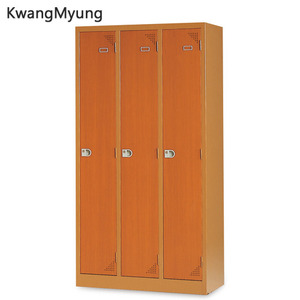 km steel locker(Cherry)-3인용