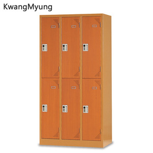 km steel locker(Cherry)-6인용