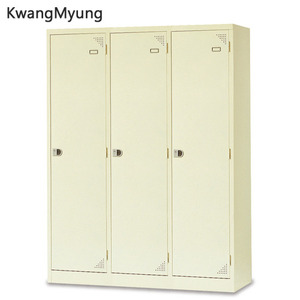 km steel locker(Ivory)-3인용