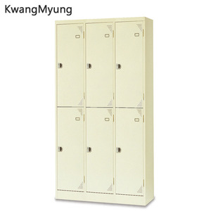km steel locker(Ivory)-6인용